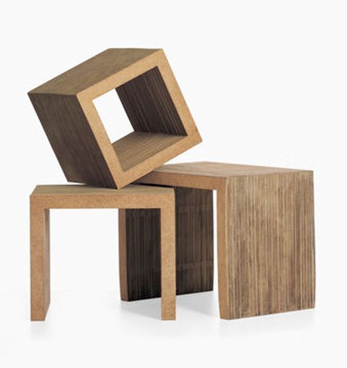 Low Table Set, Vitra®, diseño Frank Gehry