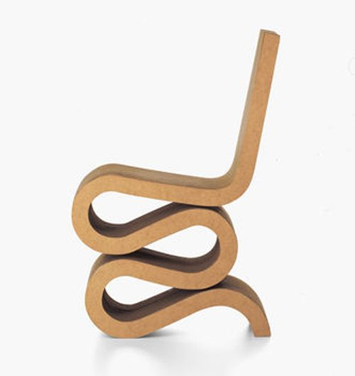 Wiggle Chair, Vitra®, diseño Frank Gehry