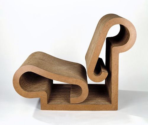 Lounge Chair, diseño Frank Gehry