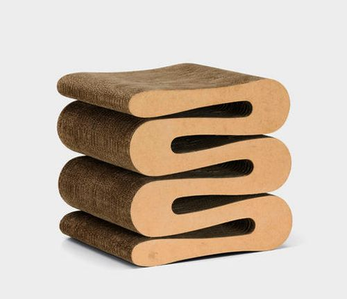Wiggle Stool, Vitra®, diseño Frank Gehry