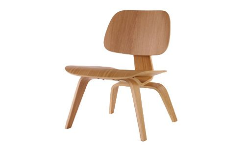 Silla Plywood, o LCW chair, de Charles and Ray Eames, 1945-46.
